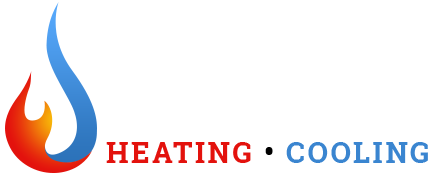Too Hot To Handle Heating and Cooling | Logo